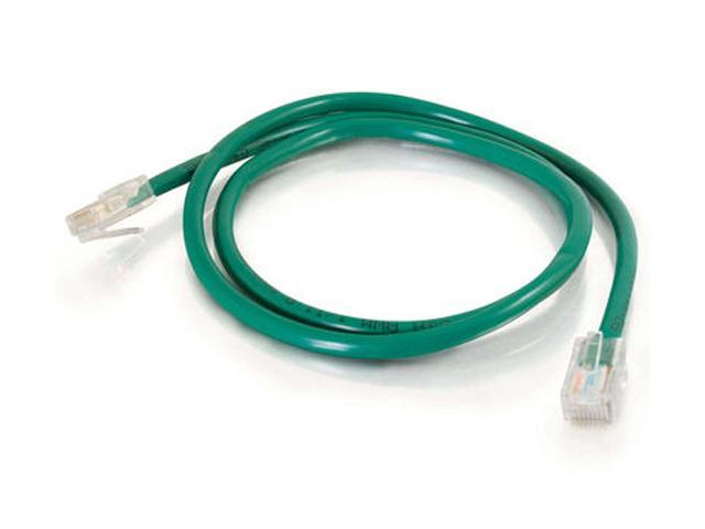 C2G 25070 1 ft. Cat5E 350 MHz Assembled Patch Cable - Green