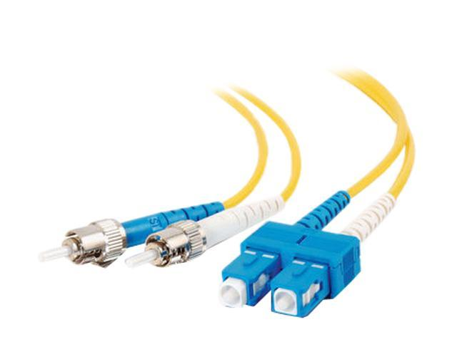 C2G 13478 9.84 ft. SC/ST Duplex 9/125 Single Mode Fiber Patch Cable