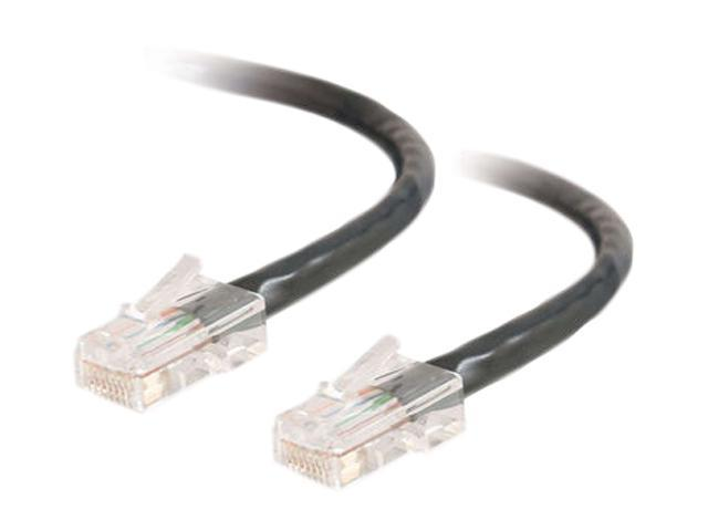 C2G 22708 15 ft. Cat 5E Black 350 MHz Assembled Patch Cable