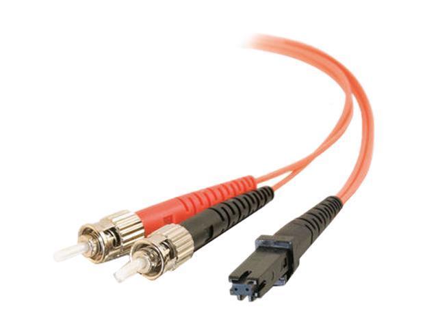 C2G 33137 6.56 ft. MTRJ/ST Duplex 62.5/125 Multimode Fiber Patch Cable