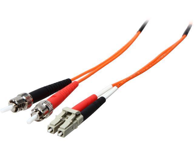 C2G 33168 32.81 ft. LC/ST Duplex 62.5/125 Multimode Fiber Patch Cable