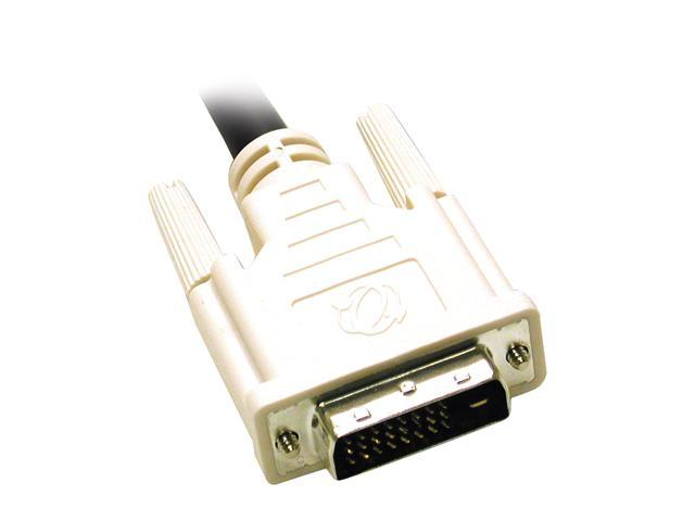 Cables To Go 26942 Black 9.8 ft. M-M 3m DVI-D M/M Dual Link Digital Video Cable