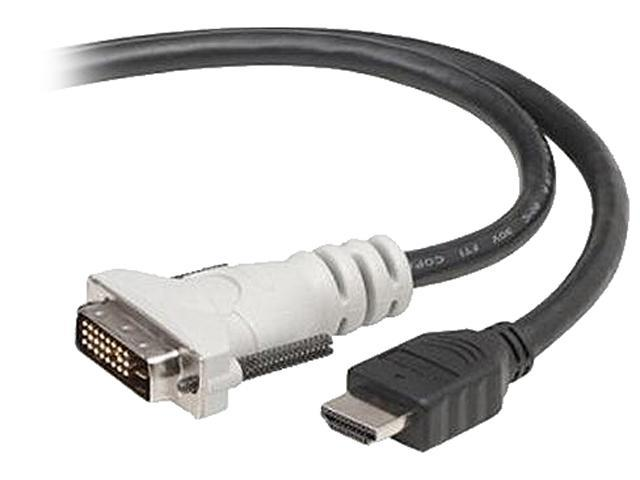 Belkin F2E8171-10-SV 10 ft. Black HDMI to DVI D Single Link Male to Male Cable
