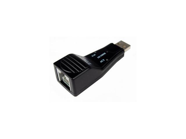 CABLES UNLIMITED USB-2810 USB 2.0 to RJ45 Ethernet 100 Base-T Network Adapter