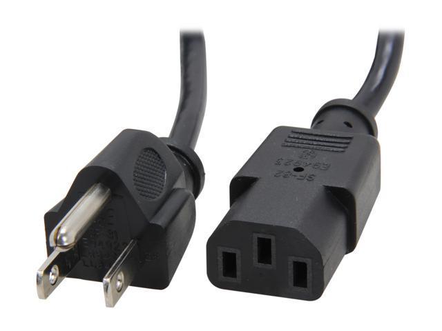 Standard Power Cable : Startech model pxt ft standard computer power