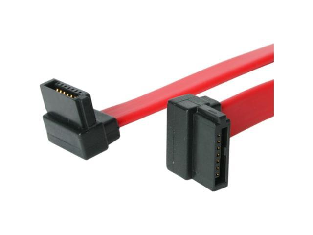 StarTech.com 12in Right Angle SATA Cable - Serial ATA F/F