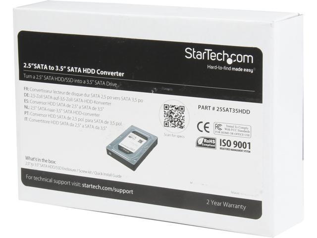 StarTech 25SAT35HDD 2.5