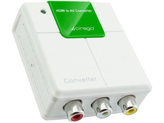 Cirago HDM2ACRCA HDMI to AV Composite Converter