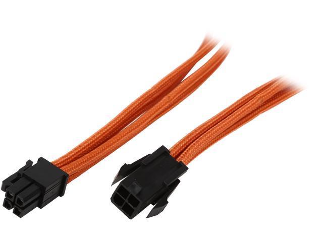 """BitFenix BFA-MSC-4ATX45OK-RP 17.72"""" (45cm) Intel ATX-4 pin Extension Cable"""