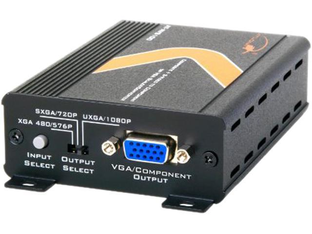 Atlona AT-AVS100 Composite or S-Video to Component or VGA Scaler and Converter