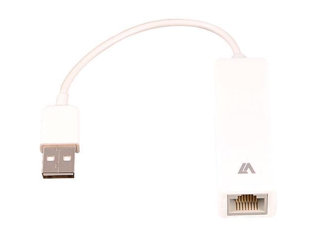 V7 CBLUSB2RJ-1N USB 2.0 to Ethernet Adapter