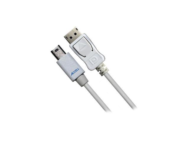 Accell Model B119B-007J 6.6 ft. Mini DisplayPort to DisplayPort Cable