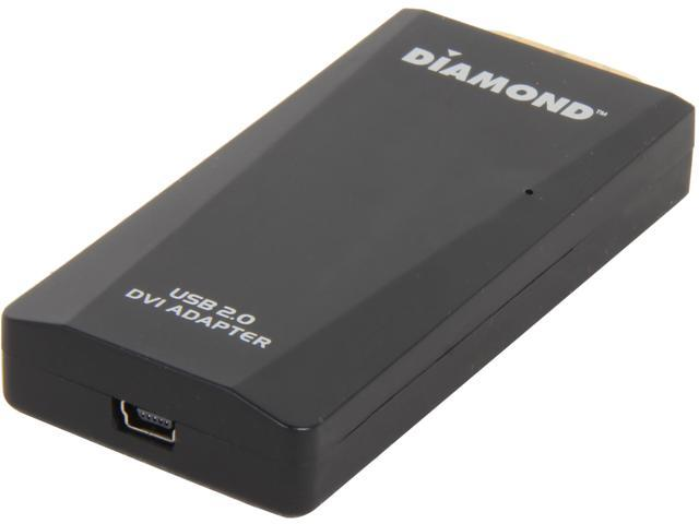 Diamond BVU165LT USB External Video Display Adapter