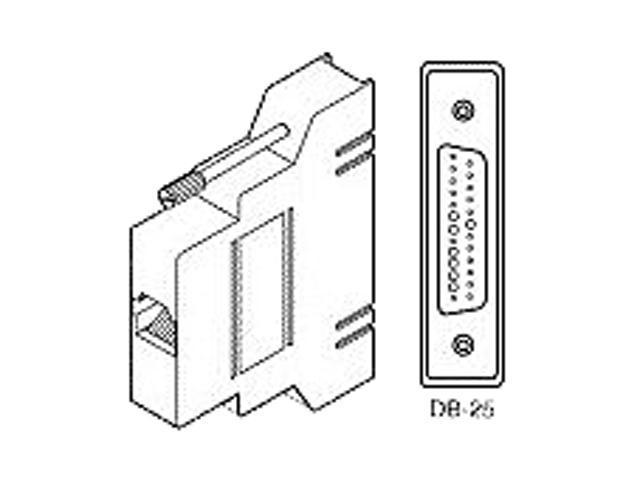 Cisco RJ45 to DB25 Adapter