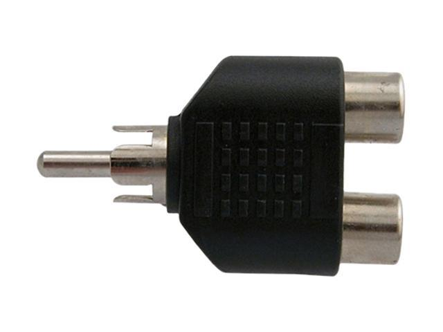 Insten 675832 RCA Male to 2 Female Adapter