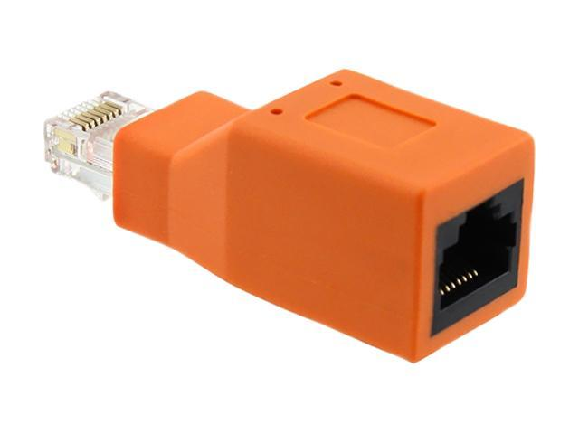 Insten 675687 RJ45 M / F Crossover Adapter [30R3-X01-MF]