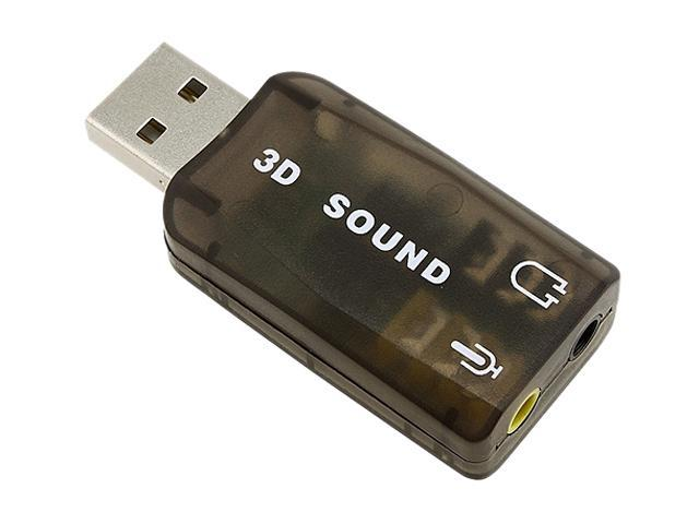 Insten 675722 USB Sound Card Adapter for Skype / Internet phones / Chat programs / MSN / Yahoo / ICQ / AIM & more