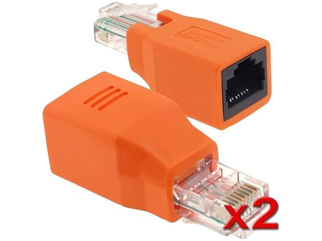 Insten 1161222 2X RJ45 M / F Crossover Adapter