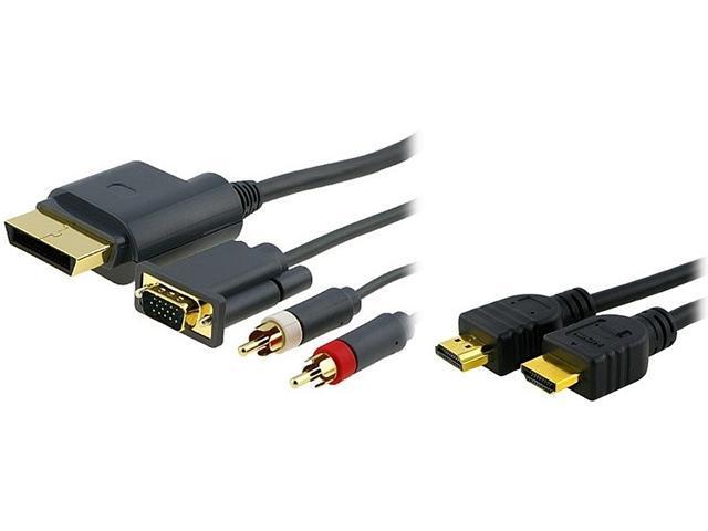 Insten 1926487 Premium VGA Cable w/ Digital Optical Audio Port