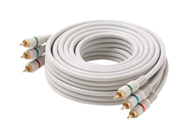 STEREN BL-216-506IV 6 ft. 3-RCA Premium Component Video Cable