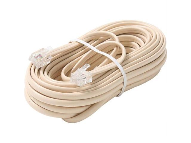 STEREN Model BL-324-100IV 51 - 100 ft. Telephone Line Cable