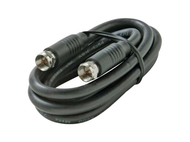 STEREN BL-215-412BK 11 - 15 ft. Coaxial Patch Cable