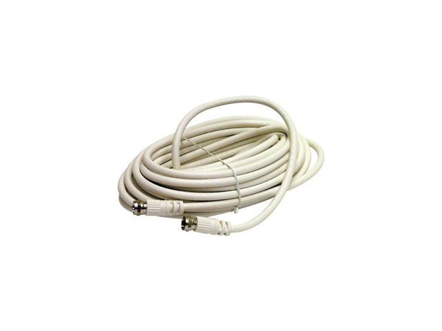 STEREN BL-215-425WH 25 ft. Coaxial Patch Cable