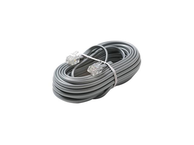 STEREN Model 306-015SL 15 ft 6C Telephone Line Cord