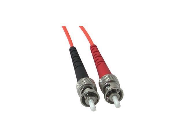 C2G Fiber Optic Duplex Patch Cable - Plenum Rated