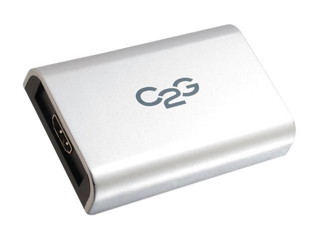 C2G 30547 USB to HDMI Adapter with Audio Up To 1080p