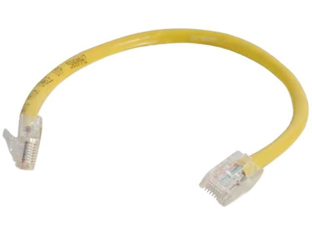C2G 04170 2 ft. Cat 6 Yellow Non-Booted Patch Cable
