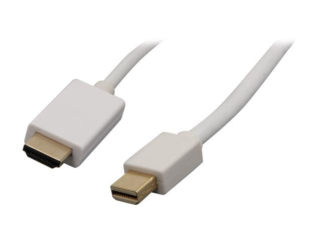 Nippon Labs Model MINIDP-HDMI-10 10 ft. Mini DisplayPort to HDMI® 10ft  32 AWG Cable M-M 10 feet- OEM