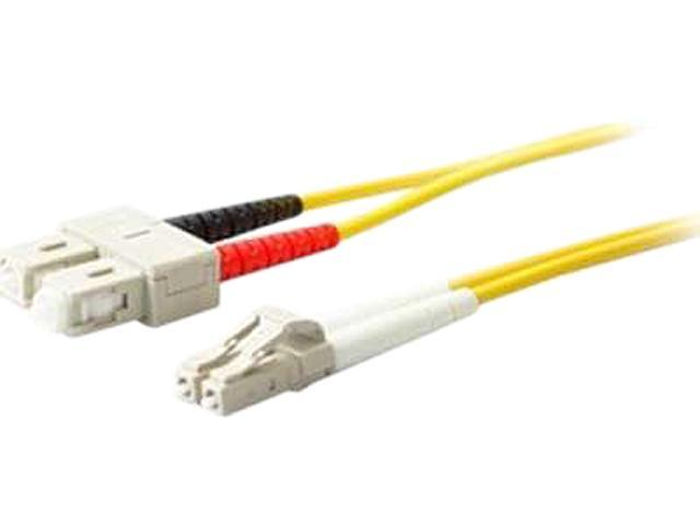 AddOn ADD-SC-LC-8M9SMF 26.25 ft. Yellow 10m Single-Mode fiber (SMF) Simplex SC/LC OS1 Yellow Patch Cable