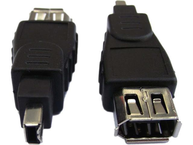 Professional Cable FW-6F4M FireWire 400 Adapter - 6 Female to 4 Male