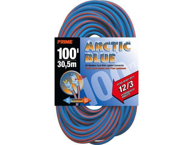 Prime Wire Model LT530835 100 ft. Extra Heavy Duty All-Weather TPE Extension Cord