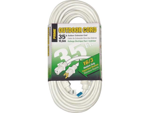 Prime Wire Model EC883627 35 ft. 16/3 SJTW Patio and Deck Extension Cord