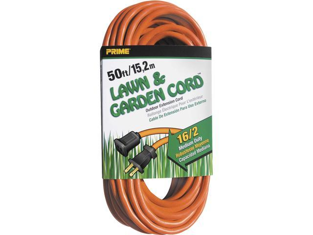Prime Wire Model EC481630 50 ft. 16/2 SJTW Lawn and Garden Outdoor Extension Cord