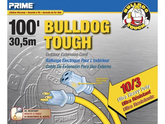 Prime Wire Model LT511935 100 ft. Bulldog Tough Ultra Heavy Duty Extension Cord