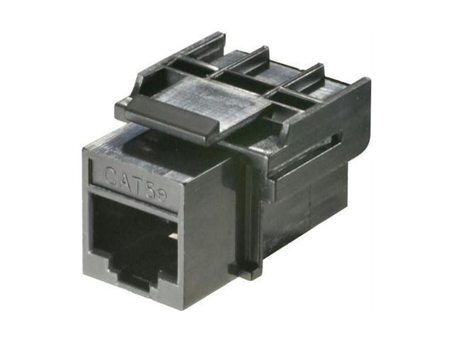 Steren 310-042BK-10 Category-5E Coupler
