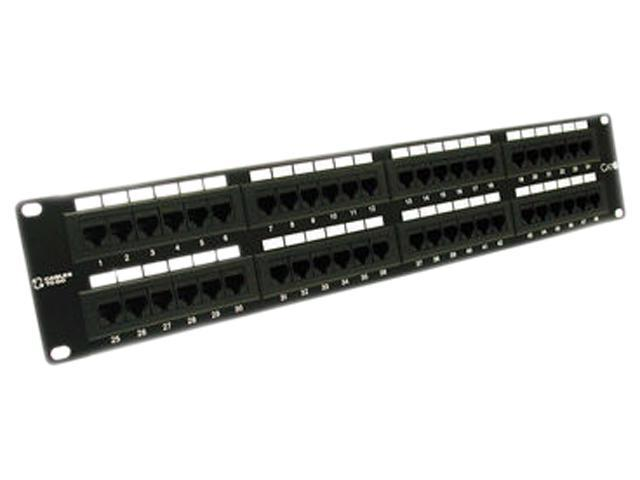 Black Box Connect 48-Port CAT6 Patch Panel