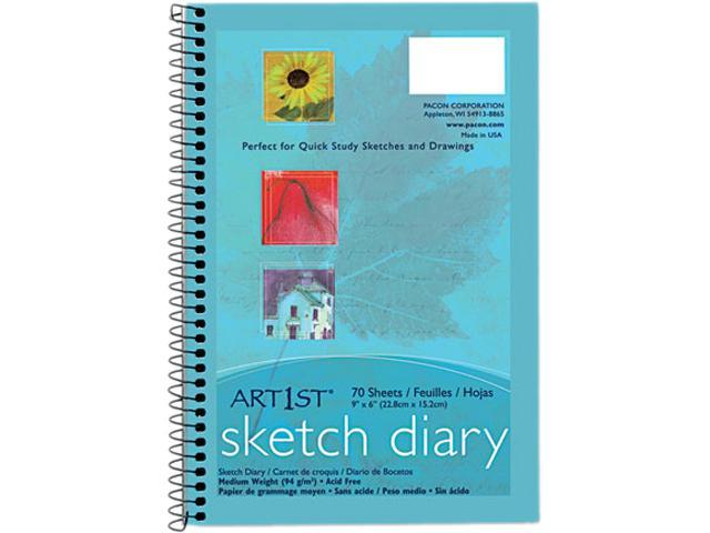 Pacon 4790 Art1st Sketch Diary 70 Sheet - 94 g/m² Grammage - 9