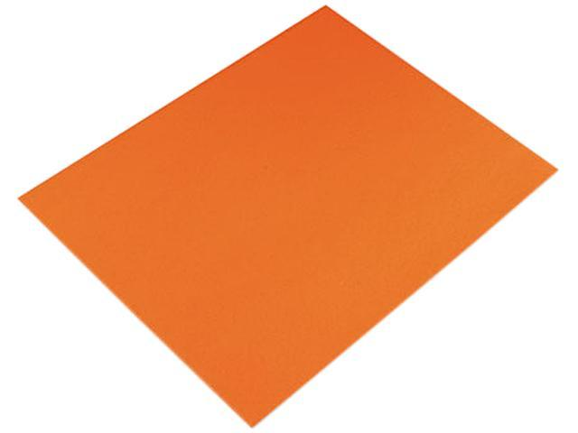 Pacon Colored Four-Ply Poster Board, 28 x 22, Orange, 25/Carton