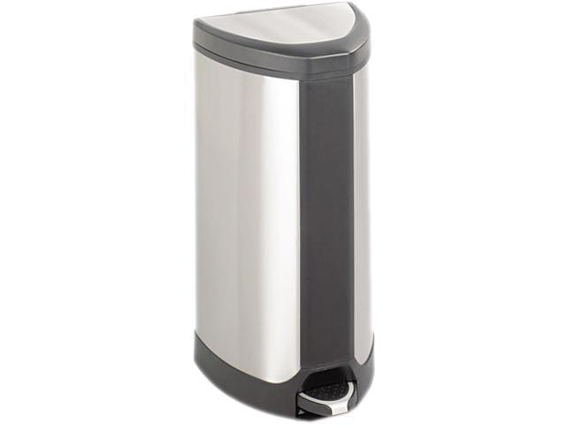 Safco 9687SS Stainless Step-On 10 Gallon Receptacle 14