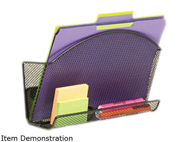 Onyx Magnetic Mesh File Pocket With Accessory Organizer