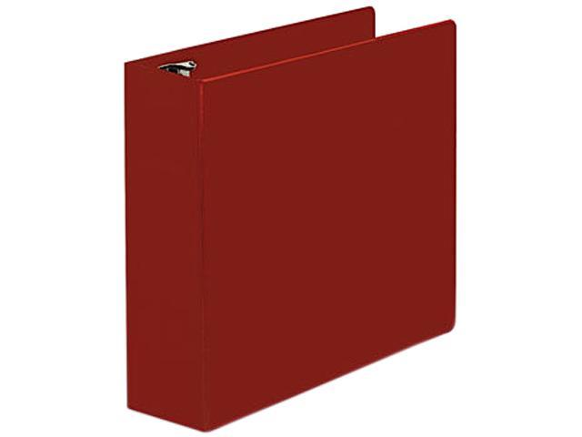 "D-Ring Binder, 3"" Capacity, 8-1/2 X 11, Red"
