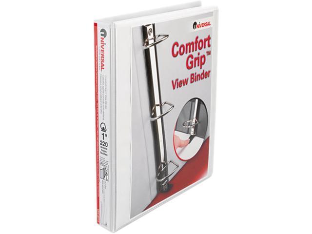 Comfort Grip Deluxe Plus D-Ring View Binder, 1