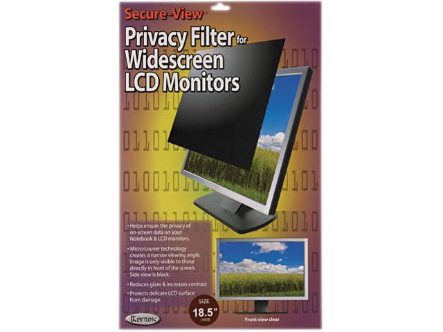 """Secure View Lcd Monitor Privacy Filter For 18.5"""" Widescreen"""