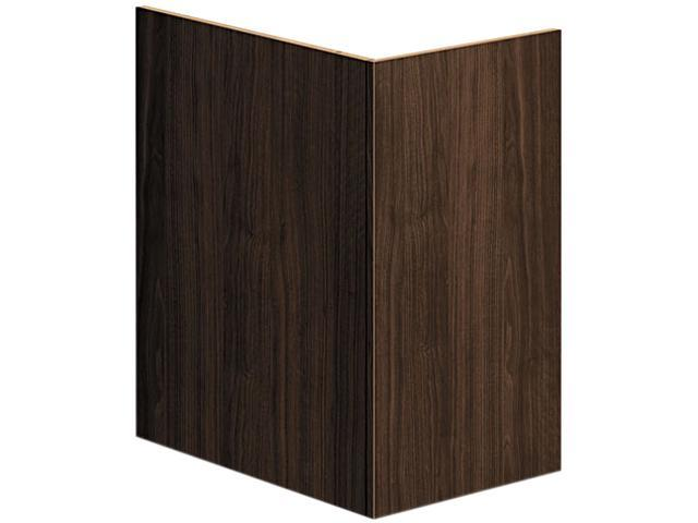 Voi End Panel Support, 16W X 20D X 28-1/2H, Columbian Walnut