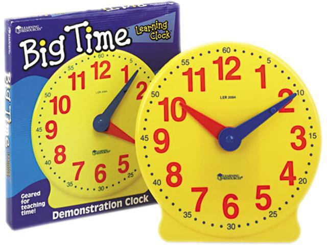 Learning Resources Big Time Demonstration Clock, 12 Hour
