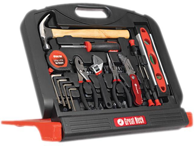 48-Tool Set In Blow-Molded Case, Black